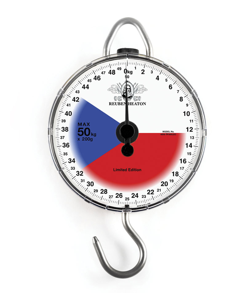 Standard Angling Flag Scale 4000 Series Czech Republic