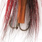Bucktail Flying C Fishing Lure Hook