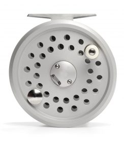 Fly Reel - High Performance Model 38 Disc Drag by Reuben Heaton - Silver Body