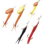 Flying C and Micro Flying C Fishing Lure - colours